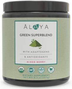 Alaya Organic Greens Superblend Powder