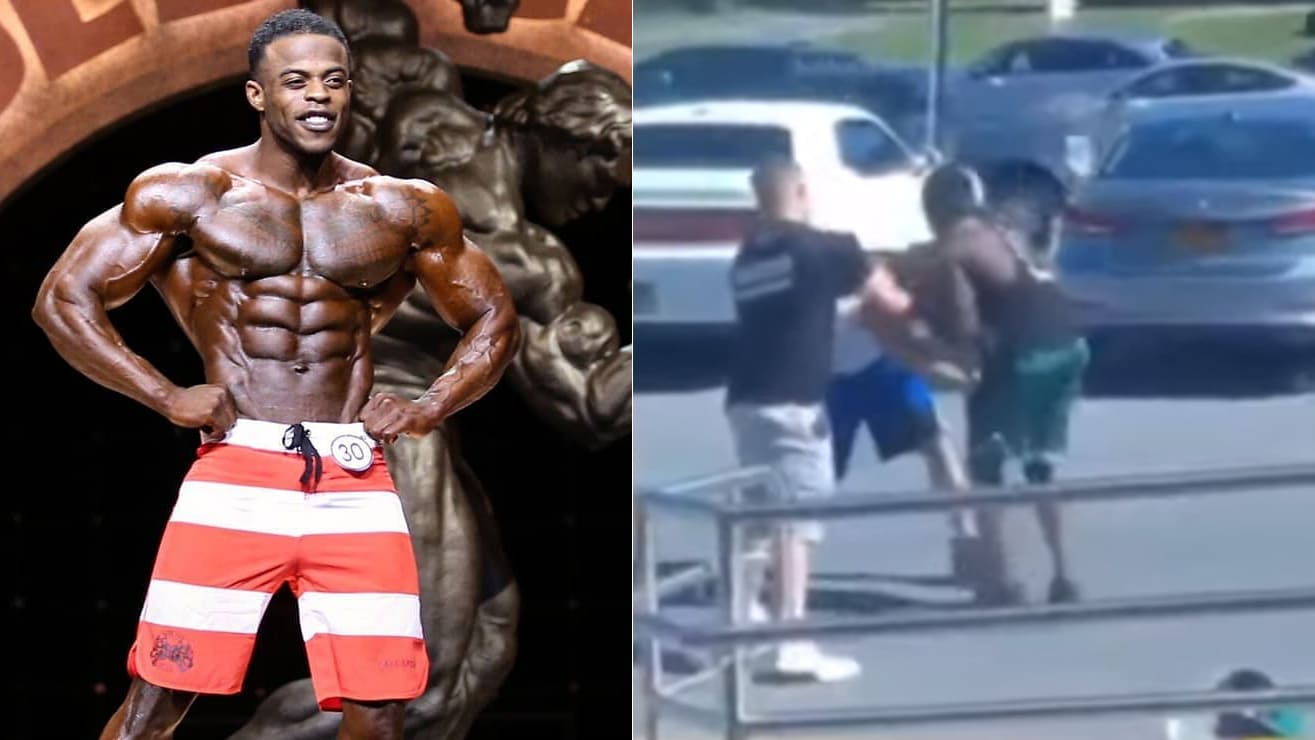Andre Ferguson Take Down Dude At His Gym After An Altercation – Fitness Volt