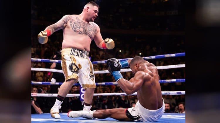 Andy Ruiz Knock Out Anthony Joshua