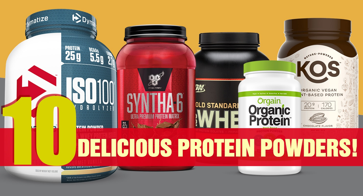Top 10 Whey Protein 2020.The 10 Best Tasting Protein Powders Of 2019 Reviewed Fitness Volt