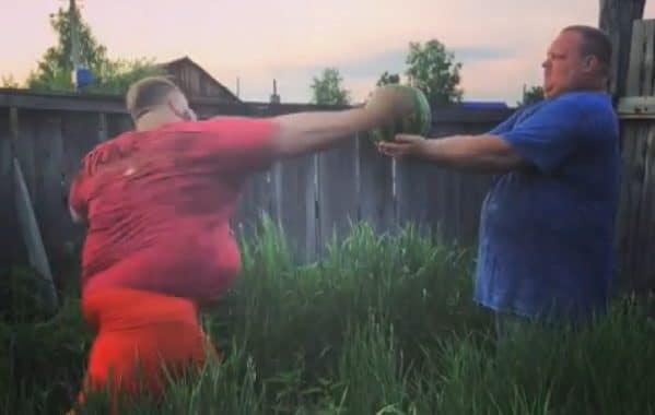 Russian Slap Champion