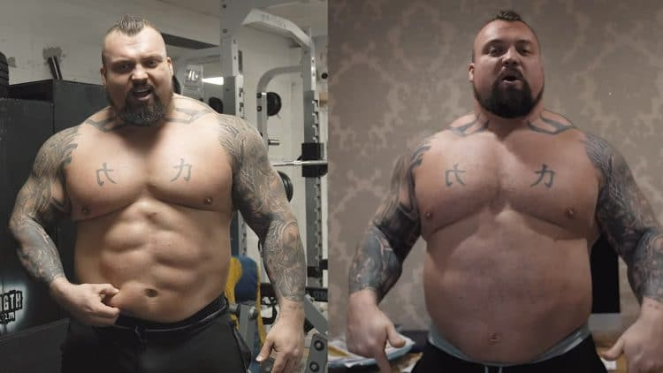 Eddie Hall Sheds 20 Pounds In 17 Days For Fat Loss Challenge
