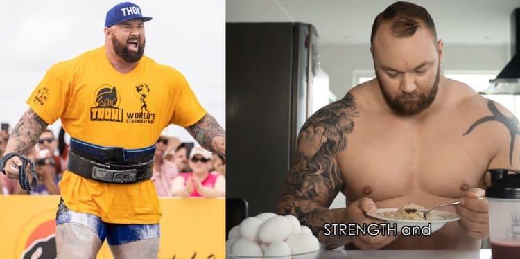 Hafthor Bjornsson Diet