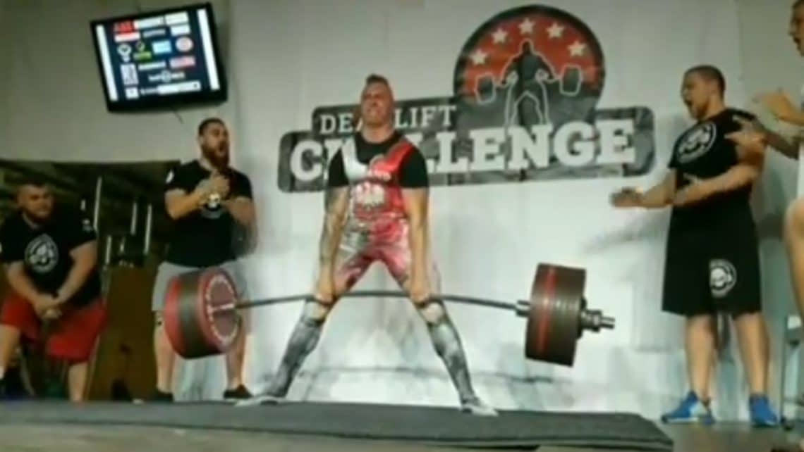 Powerlifter Krzysztof Wierzbicki Deadlifts 423.5kg/953.4lb For Unofficial World Report
