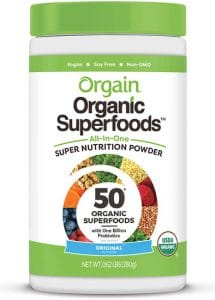 Orgain Organic Green Superfoods Powder