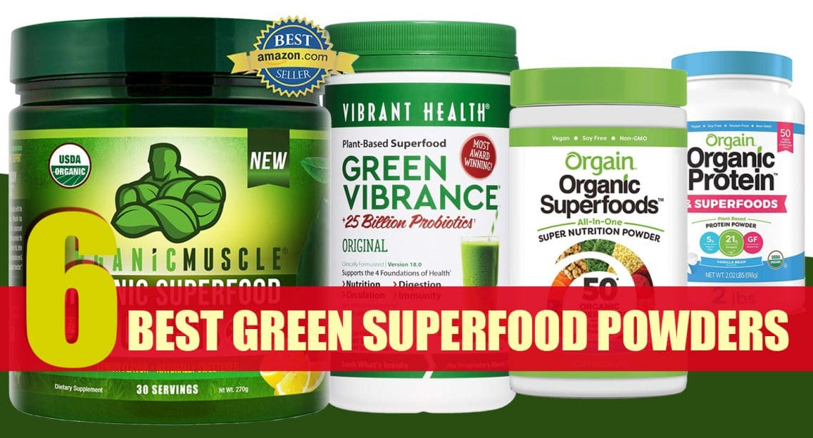 Our Top Green Superfood Picks