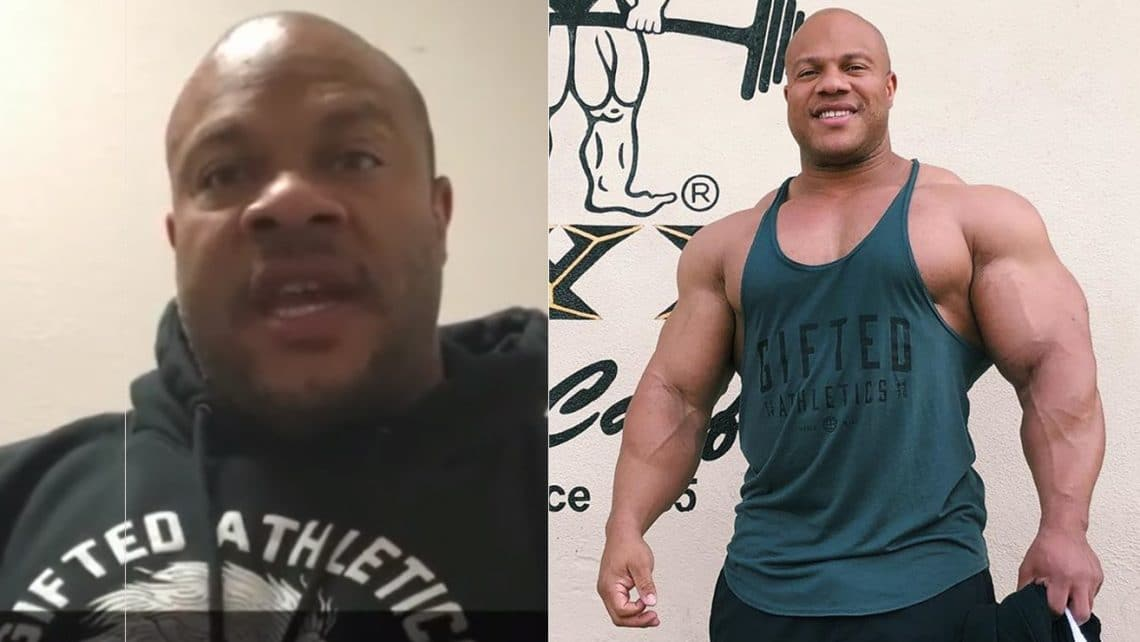 Phil Heath talks about his plans for this year…