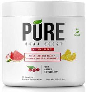 Pure Bcaa Boost All Natural Vegan Bcaas