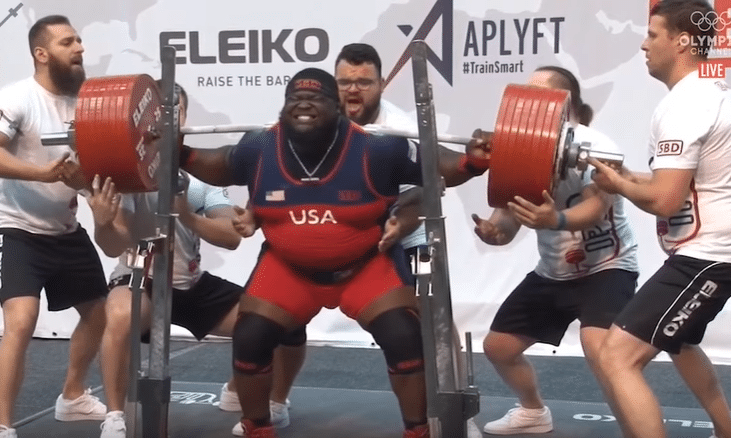 5df3931495 WATCH: Ray Williams Misses A 440kg Squat – Fitness Volt