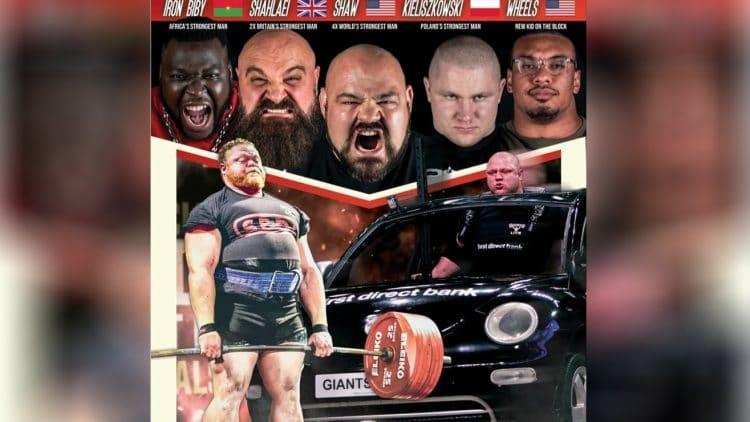 Worlds Strongest Men Show