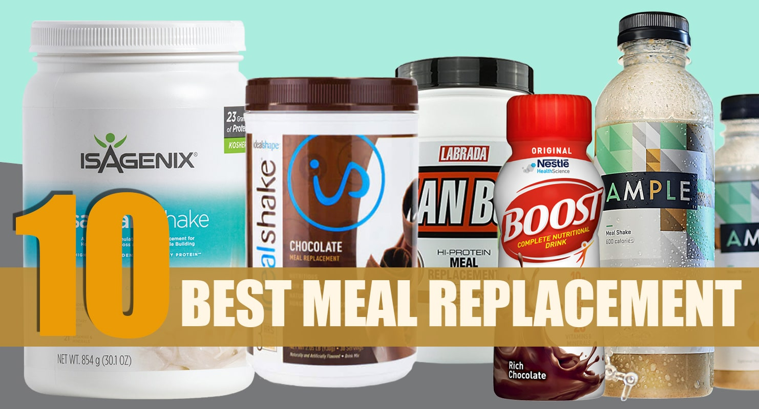 10 Best Meal Replacement Shakes Reviewed For 2019 Fitness Volt