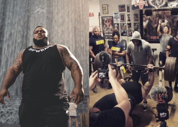 Julius Maddox Sets American Record With Huge 723 1 lb Bench