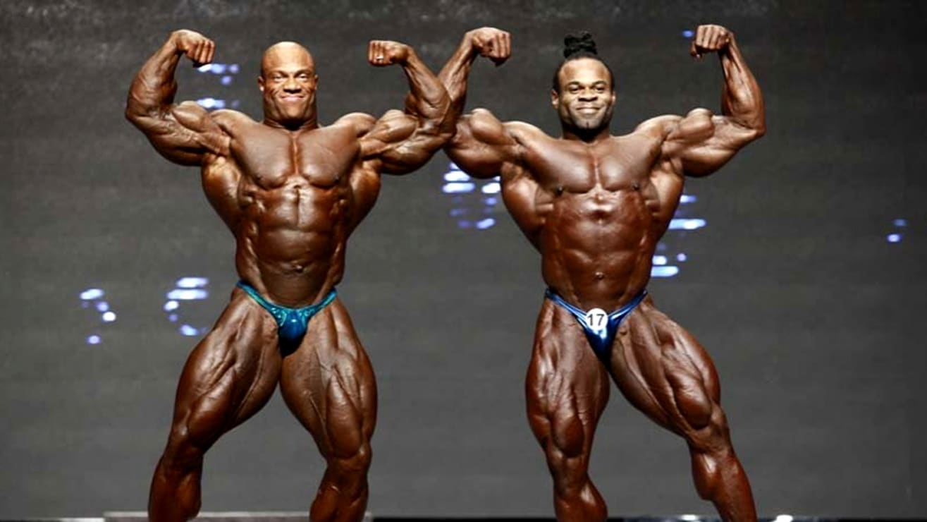 Phil Heath and Kai Greene