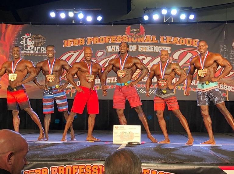 Men's Physique Pro Winner