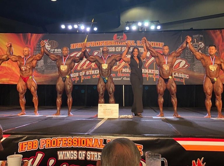Men S Open Bodybuilding Winners