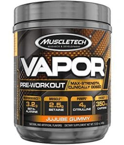 Muscletech Vapor One Pre Workout