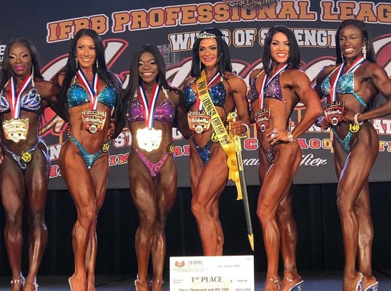 Pro Figure Winners