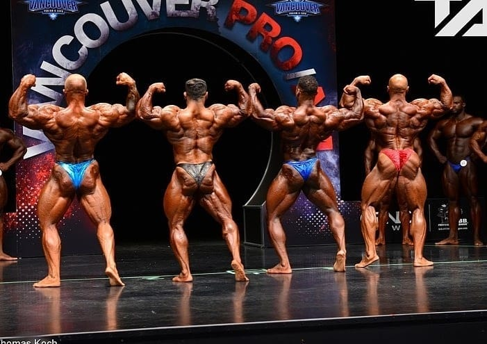 Vancouver Pro Bodybuilding Top Three
