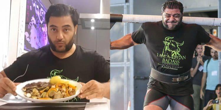 Vegan Strongman Patrik Baboumian Diet
