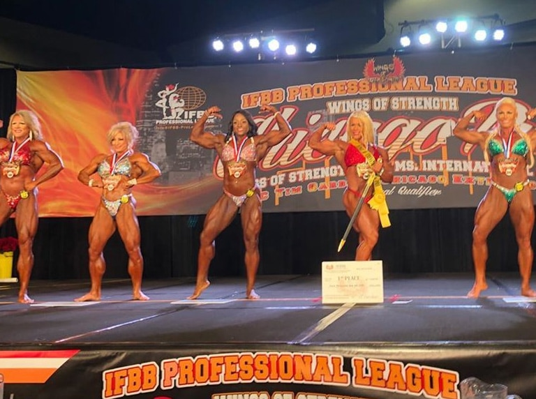 Woman's Bodybuilding Winners