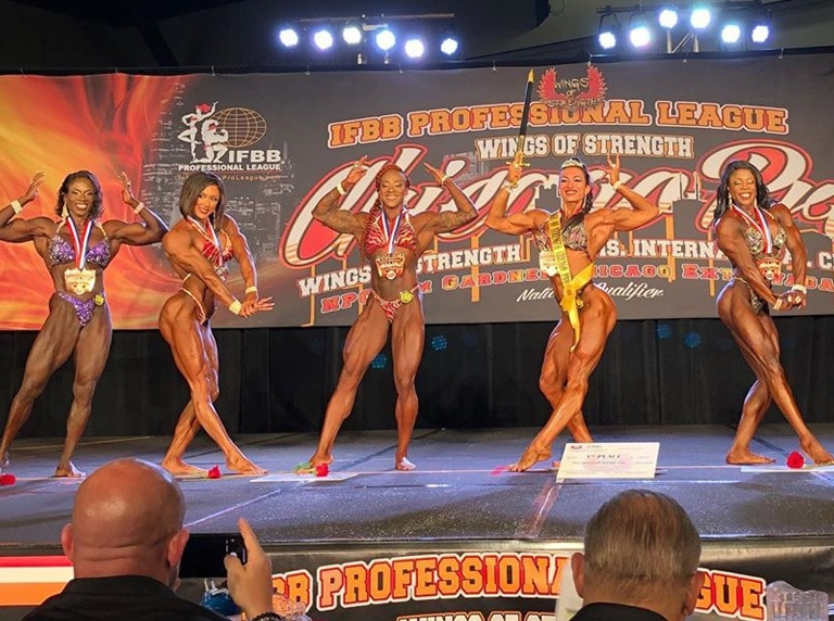 Women's Physique Pro Winner