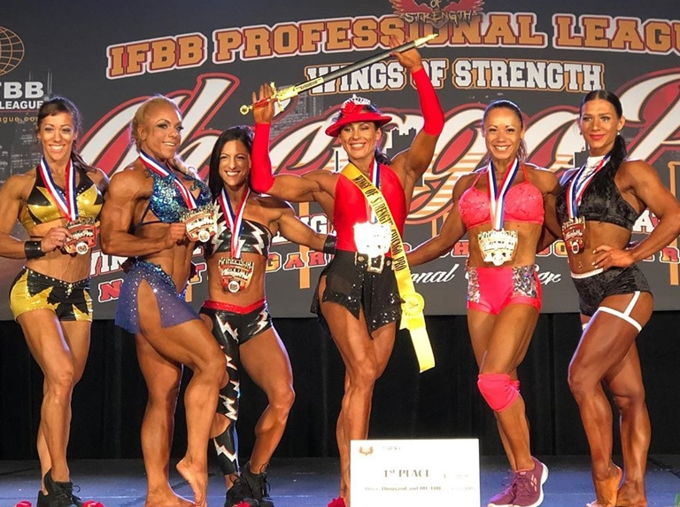 Women Fitness Pro Winner