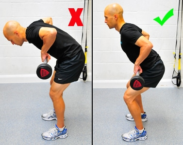 Bent Over Row Correct Way
