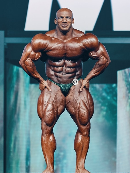Big Ramy at 2019 Mr. Olympia
