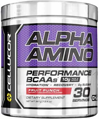 Cellucor Alpha Amino EAA and BCAA Recovery Powder