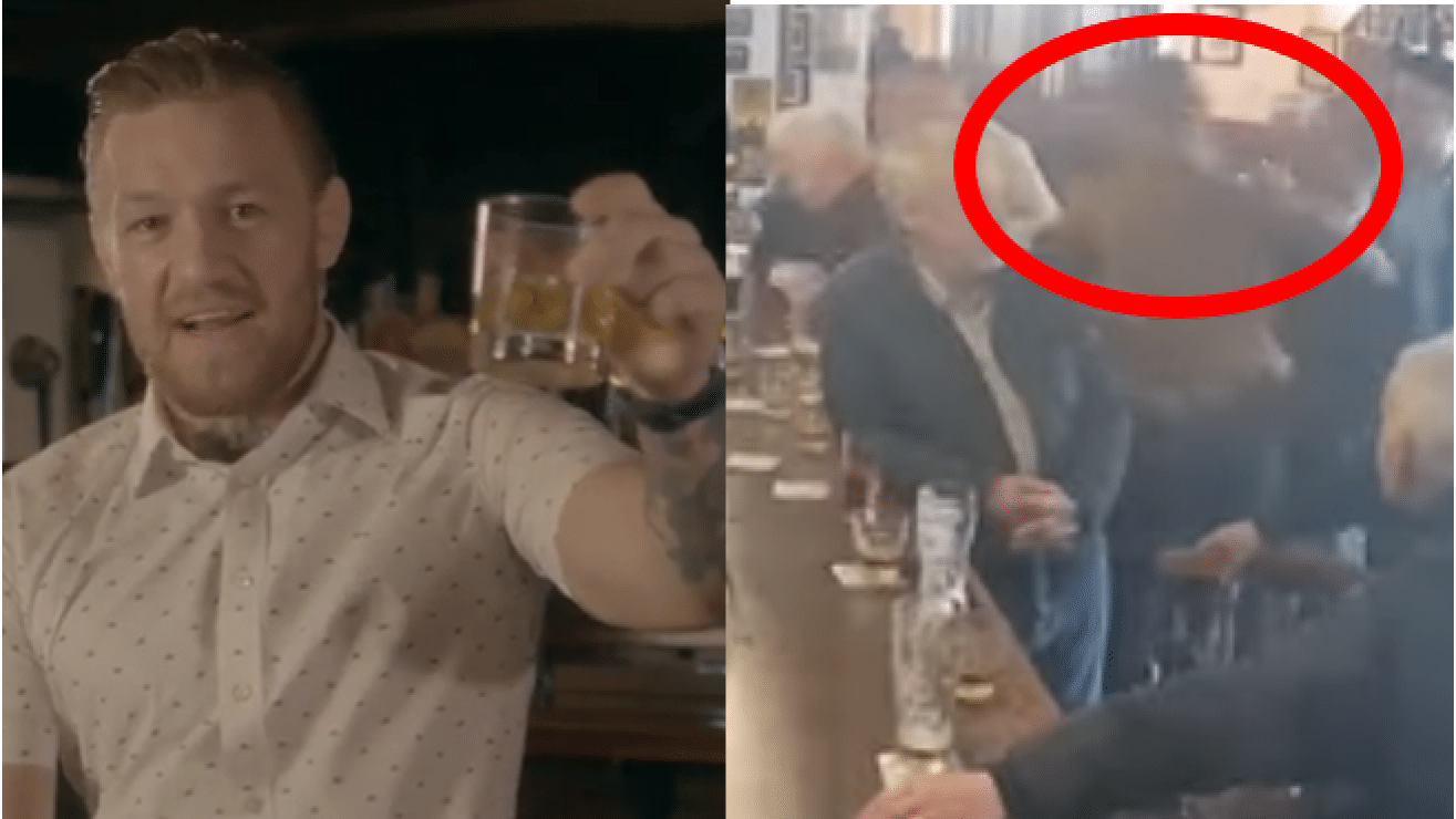 Video Surfaces Of Conor McGregor Assaulting Older Man In Bar