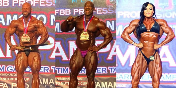 IFBB Tampa Pro 2019 Results