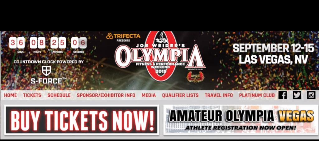 Pan Olympia Sprzedaż biletów