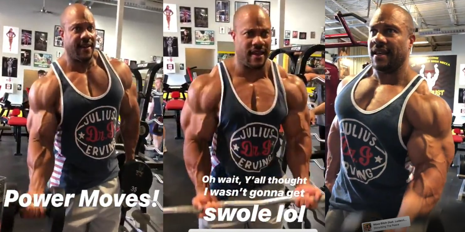 Phil Heath Looking Olympia Ready