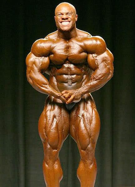 Phil Heath Posing