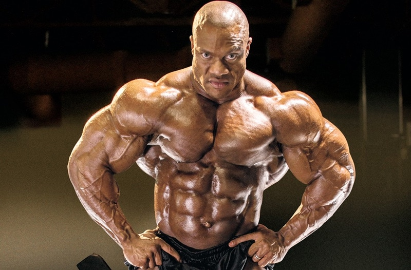 Phil Heath Shoulders