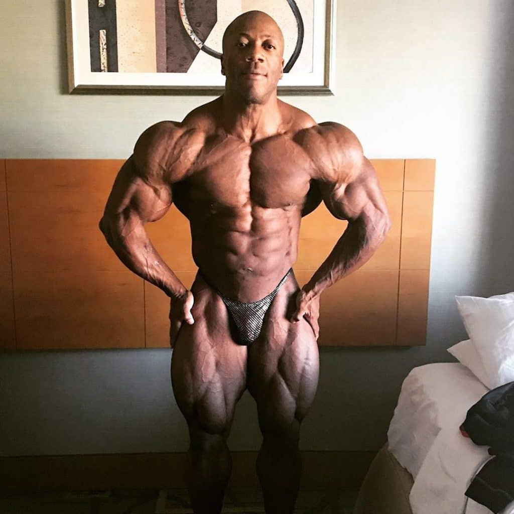Shawn Rhoden Weeks Out From Olympia