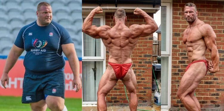 Strongman Terry Hollands Transformation
