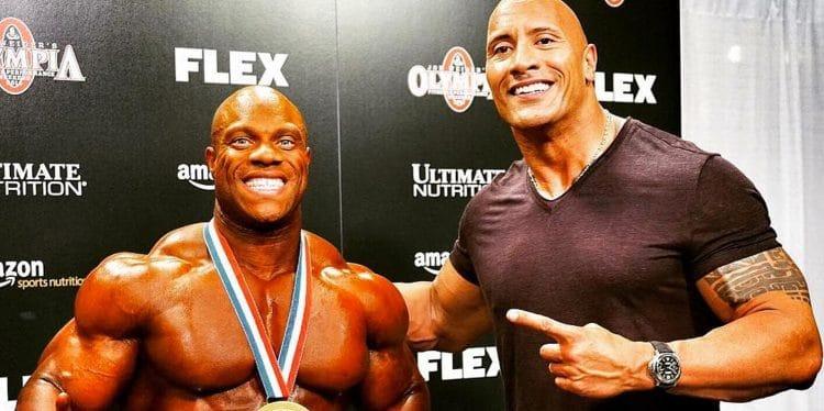 The Rock Bodybuilding Show