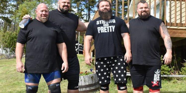 World's Strongest Men vs Tug of War Team