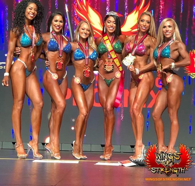 Arizona Pro Bikini Winners