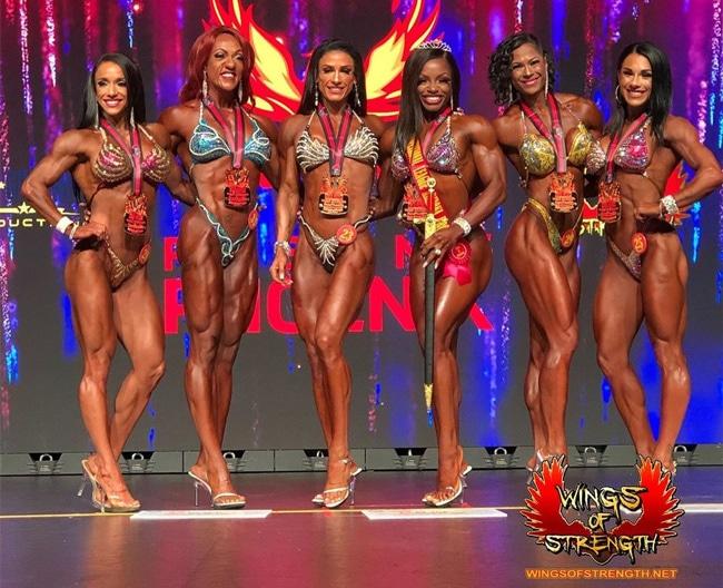 Arizona Pro Figure Winners
