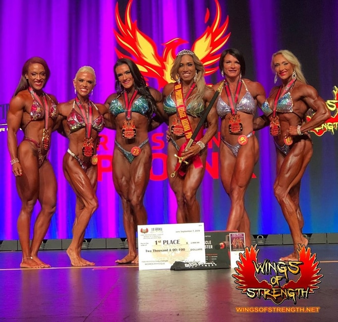 Arizona Pro Women's Physique Winner