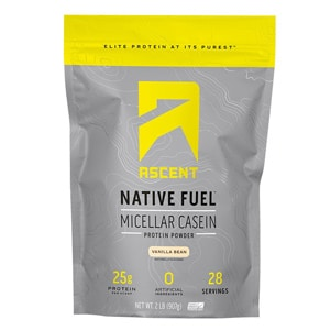 Ascent Native Fuel Micellar Casein Protein
