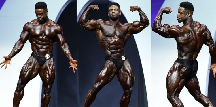 Breon Ansley at Mr. Olympia 2019