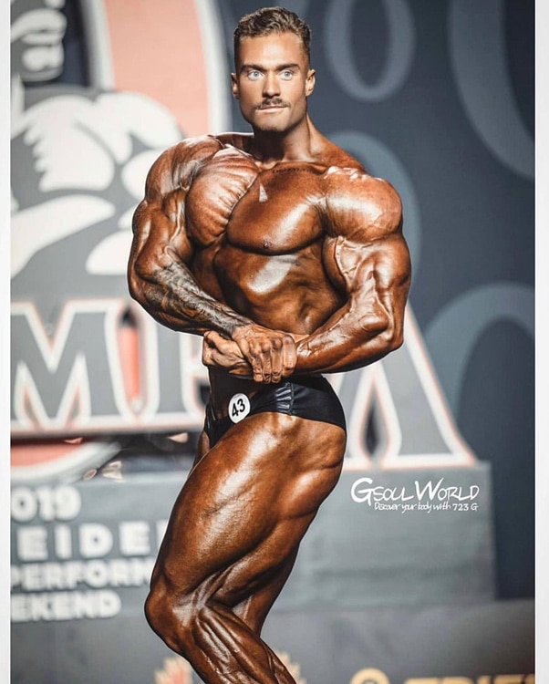 Chris Bumstead Classic Physique Mr. Olympia