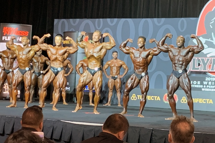 Classic Physique Olympia Callout