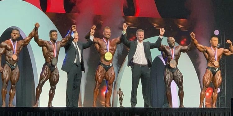 2019 Classic Physique Olympia Winners