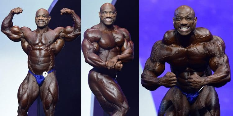 Dexter Jackson About His Th Place Finish at 2019 Olympia