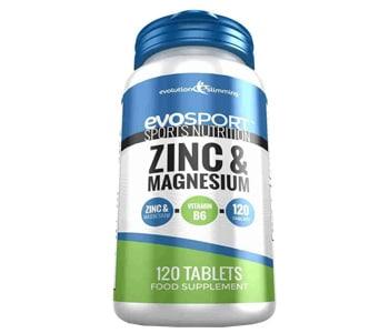 Evosport Zinc Magnesium Zma