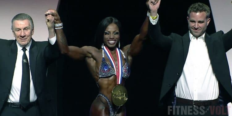 Figure Olympia Results